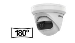 Hikvision DS-2CD2345G0P-I 4MP IP Ultra Wide Turret Camera 1.68mm