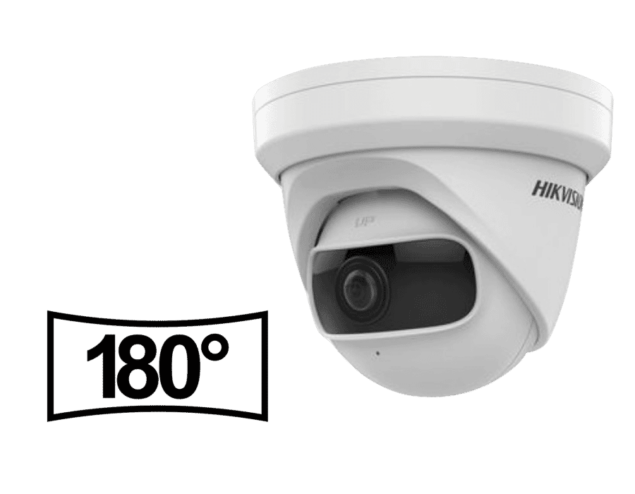Hikvision DS-2CD2345G0P-I 4MP IP Ultra Wide Turret Camera 1.68mm