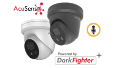 Hikvision DS-2CD2346G2-IU 4MP IP Acusense Audio Turret