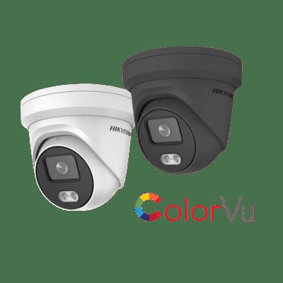 Hikvision DS-2CD2347G1-LU 4MP IP ColorVu Audio Turret