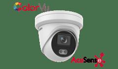 Hikvision DS-2CD2347G2-L 4MP IP ColorVu Acusense Turret 2.8mm