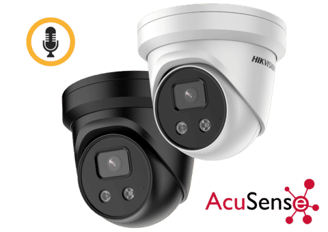 Hikvision DS-2CD2366G2-IU 6MP IP Acusense Turret Camera