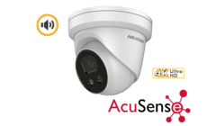 Hikvision DS-2CD2386G2-IU 8MP 4K IP Acusense Audio Turret 2.8mm