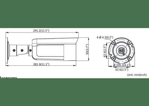 Hikvision DS-2CD2T47G1-L 4MP IP Colorvu Bullet Camera