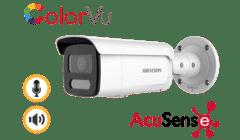 Hikvision DS-2CD2T47G2-LSU/SL 4MP IP Colorvu Acusense Bullet 2.8mm