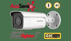 Hikvision DS-2CD2T86G2-ISU/SL 8MP 4K Acusense Bullet with Siren