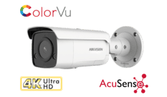 Hikvision DS-2CD2T87G2-L 8MP 4K Colorvu Acusense Bullet Camera