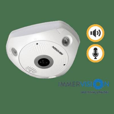 Hikvision DS-2CD63C5G0-IVS 12MP IP Fisheye Camera 1.29MM