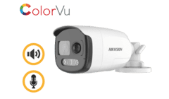Hikvision DS-2CE12DF3T-PIRXOS 2MP TVI ColorVu Bullet with Siren 3.6mm
