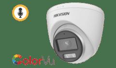 Hikvision DS-2CE72KF0T-FS 5MP 3K 16:9 TVI ColorVu Turret 2.8mm