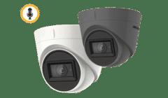 Hikvision DS-2CE78H0T-IT3FS 5MP TVI Audio Turret