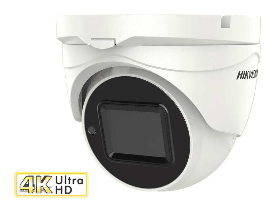 Hikvision DS-2CE79U1T-IT3ZF 8MP 4K TVI Turret 2.8-12MM MFZ
