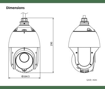 Hikvision DS-2DE4425IW-DE 4MP IP PTZ 25x Zoom