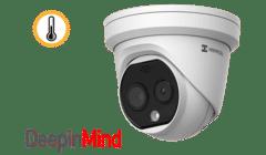 Hikvision DS-2TD1217 Eco Thermal Bi-spectrum HeatPro IP Turret Camera
