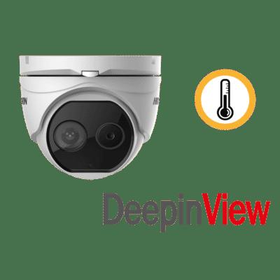 Hikvision DS-2TD1217-3/V1 2MP Thermal & Optical Turret 3.1mm