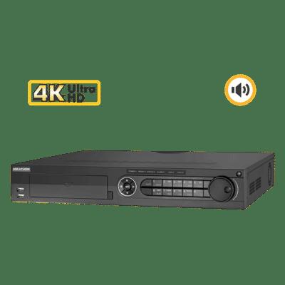 Hikvision DS-7316HUHI-K4 16 Channel 8MP Hybrid DVR