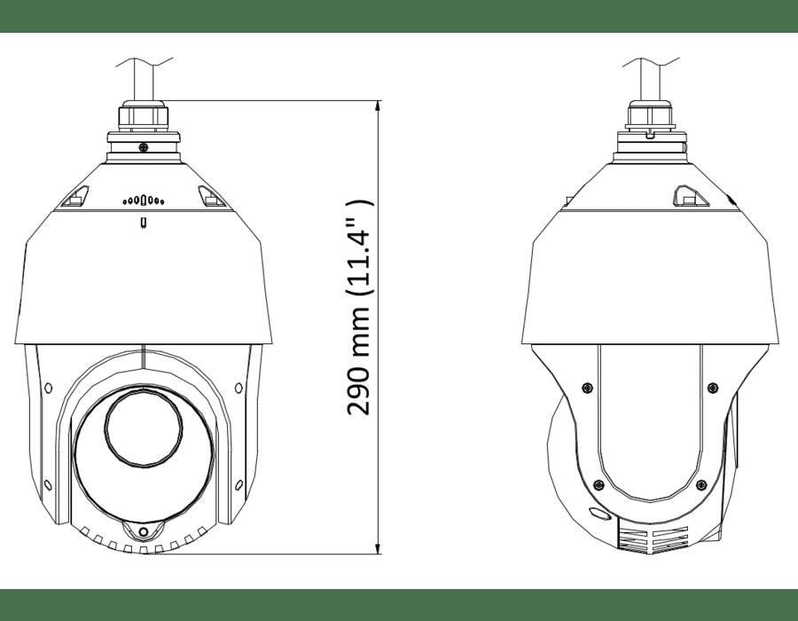 HiLook PTZ-T4215I-D 2MP TVI PTZ 15X Zoom