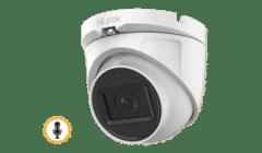 HiLook THC-T120-MS 2MP TVI Mini Turret with Mic 2.8mm