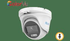 HiLook THC-T159-MS 5MP TVI Colorvu Mini Turret with Audio 2.8mm