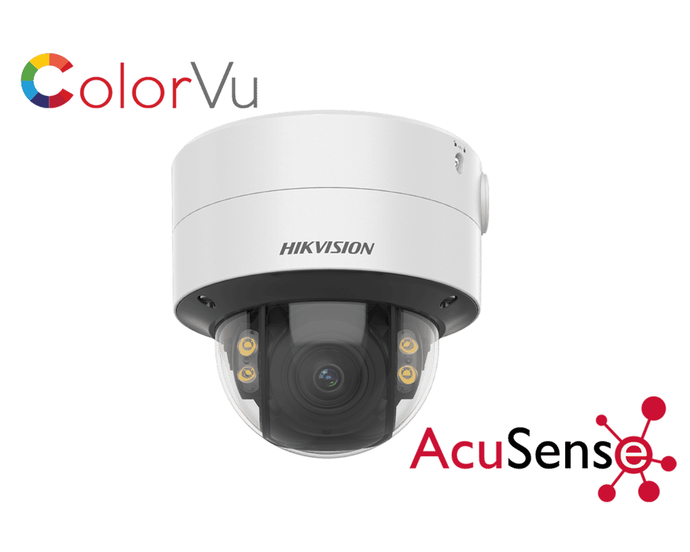 Hikvision DS-2CD2747G2-LZS 4MP IP ColorVu Dome 3.6-9mm MFZ