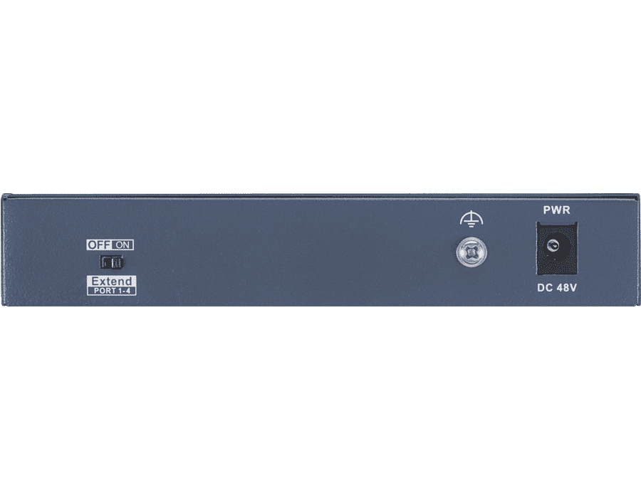 Hikvision DS-3E0106HP-E 6 Port POE Switch with Dual Up-link