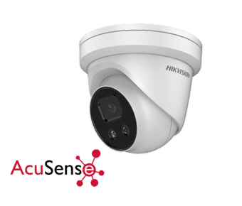 Hikvision DS-2CD2346G1-I/SL 4MP IP AcuSense Turret 2.8MM