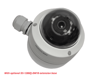 Hikvision DS-2CE56H0T-VPITF 5MP Analogue Dome 2.8MM