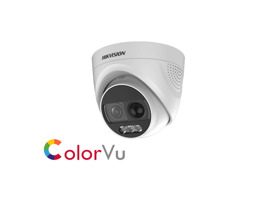 Hikvision DS-2CE72DFT-PIRXOF 2MP Colorvu PIR Turret 3.6mm