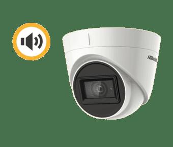 Hikvision DS-2CE78D0T-IT3FS 2MP TVI Audio Turret 2.8mm