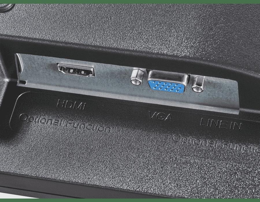 "Hikvision DS-D5019QE-B 18.5"" LCD Monitor HDMI/VGA"