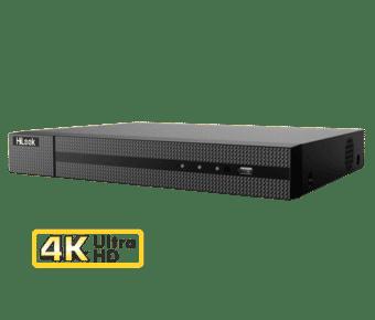 HiLook DVR-208U-K1 4K Ultra HD 8MP TVI 8 Channel DVR