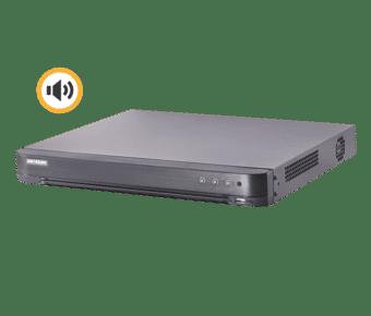 Hikvision DS-7204HTHI-K1(S) 4 Channel 8MP Hybrid Audio DVR