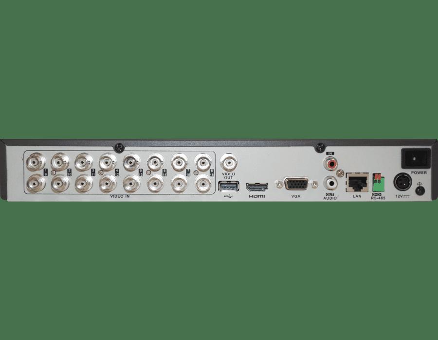 Hikvision DS-7216HUHI-K2(S) 16 Channel 8MP TVI Hybrid Audio DVR