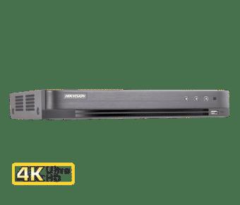 Hikvision DS-7204HTHI-K1 4 Channel 8MP Hybrid DVR