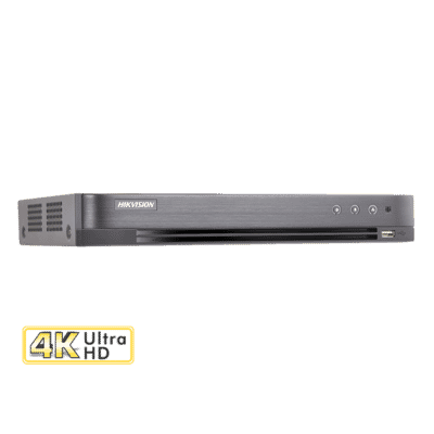 Hikvision DS-7204HTHI-K1 4 Channel 8MP Hybrid DVR