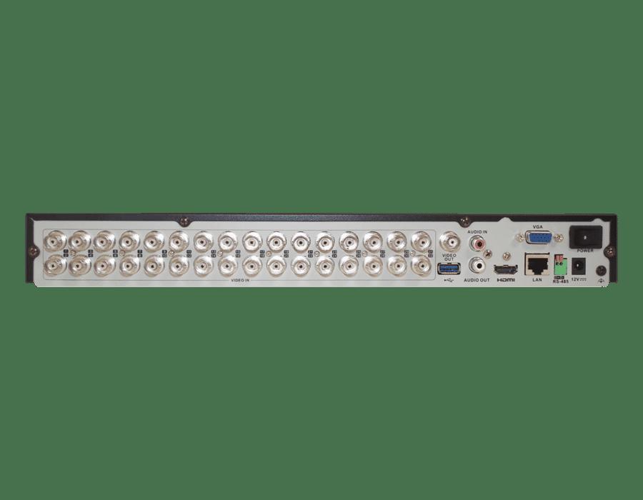 Hikvision DS-7232HQHI-K2 32 Channel 4MP TVI Hybrid DVR