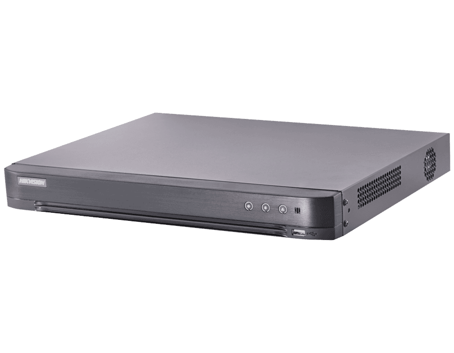 Hikvision DS-7204HUHI-K1/P 4 Channel 5MP TVI PoC Hybrid DVR