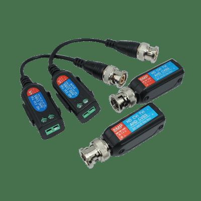 4K 8MP HD 2 Wire Passive Video Balun for CCTV