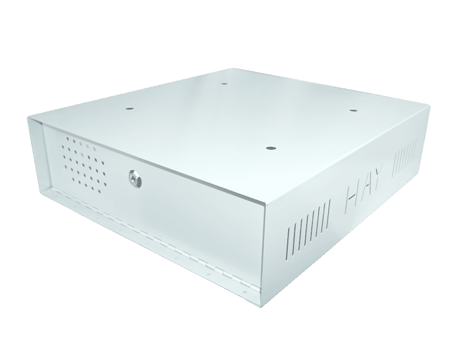 Extra Large Lockable CCTV Recorder DVR/NVR Metal Enclosure