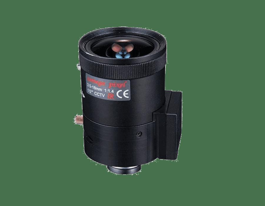 HD 2MP Vari-focal C Mount CCTV Camera Lens 3.5-18mm