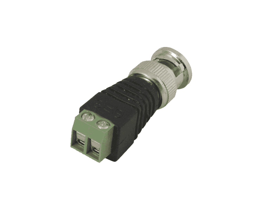 BNC Male Plug Connector with Screw Terminals