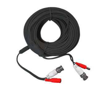 CCTV Cable BNC and 2.1mm DC Power Mini Shotgun