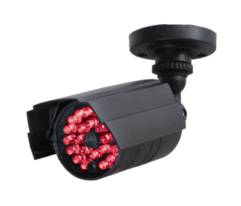 Realistic Dummy CCTV Camera with Glowing LEDs
