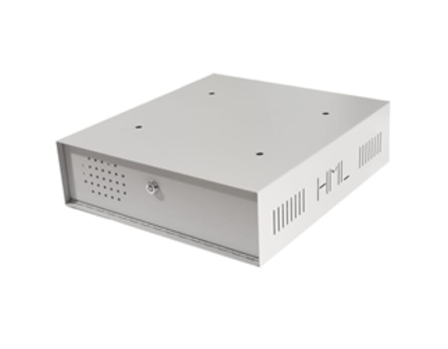Small Lockable CCTV Recorder DVR/NVR Metal Enclosure
