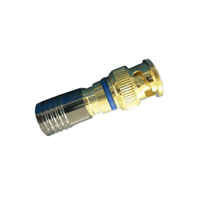 Snap seal Premium BNC Coax Crimp Plug Connector