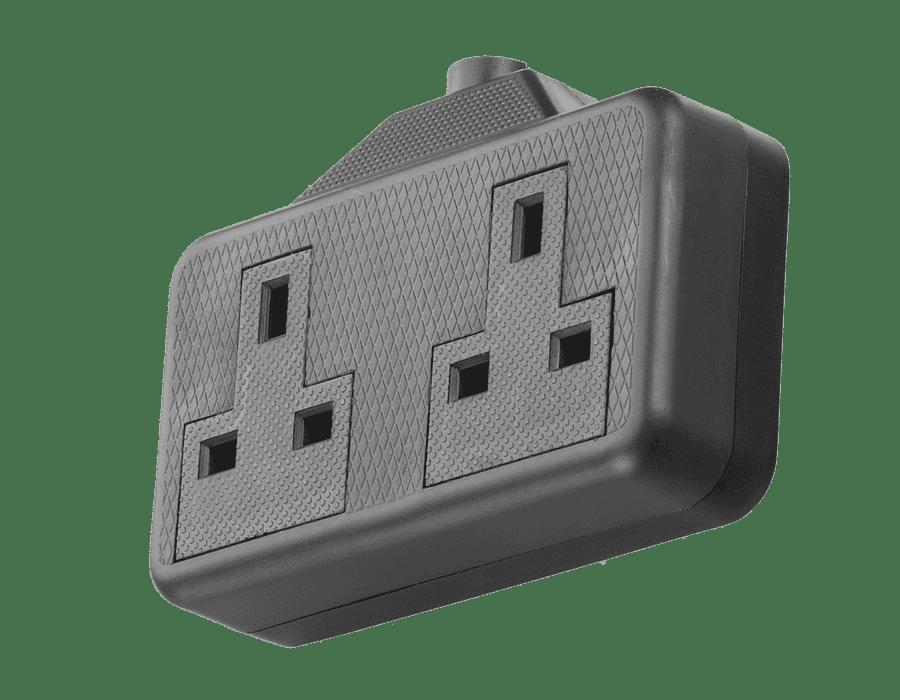 230v Mains Extension Lead Trailing Socket