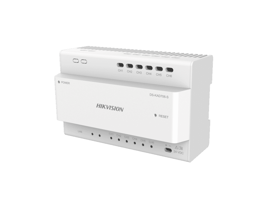 Hikvision DS-KAD706 2-Wire Video Intercom Distributor
