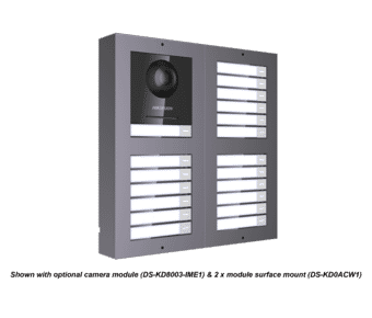 Hikvision DS-KD-KK Name Tag Intercom 6 Button Module