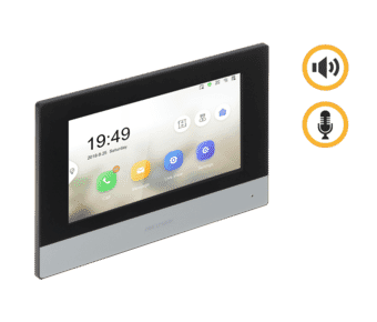 """Hikvision DS-KH6320-TE1 7"""" Intercom Touch Monitor"""