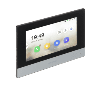 """Hikvision DS-KH6320-WTE1 7"""" Intercom Touch Monitor with WiFi"""